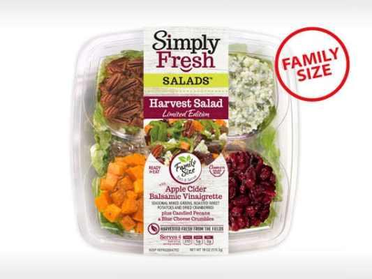 Family Size<br>Harvest Salad