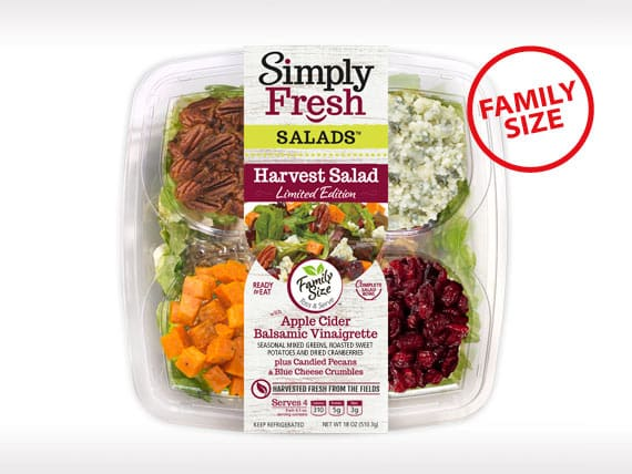Family Size<br>Harvest Salad