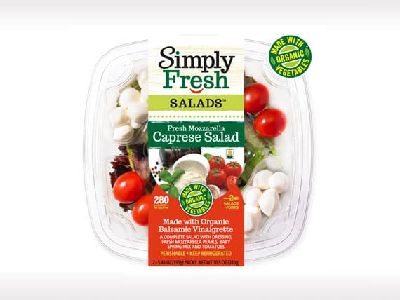 Caprese Salad<br>with Organic Veggies