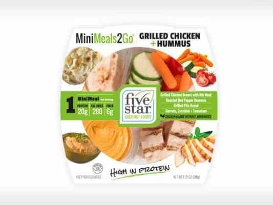MM2G™ Grilled<br>Chicken + Hummus