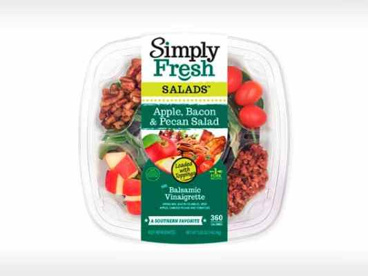 Apple, Bacon<br>& Pecan Salad