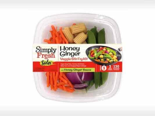 Honey Ginger Veggie<br>Stir Fry Kit