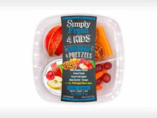 Kid's Meal<br>Cheddar & Pretzels