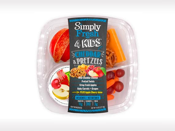 Kid's Meal<br>Cheddar & Pretzels