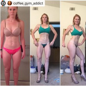 Chrissy's prep transformation from start to just a few weeks out
