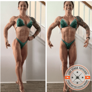 FSP client Kristan one week out from her first show