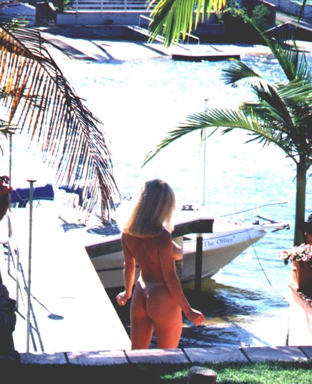 Playboy photo shoot