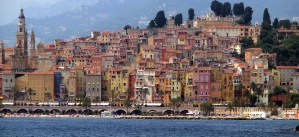 Menton-French-Italian-border