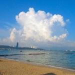 Beautiful-cloud-Pattaya-beach-bikini-Thailand