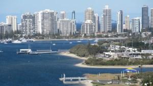 Australia-Blue-Sky-Boats-Gold-Coast-Broadwater