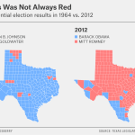 Mapping The Changing Face Of The Lone Star State Fivethirtyeight