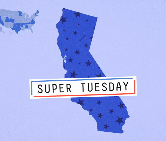 Super Tuesday Preview Sanders Is Favored In California But Biden