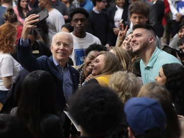 Presidential Candidate Joe Biden Campaigns Ahead Of Primary In South Carolina