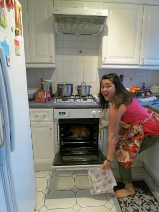 Look Ma, I roasted my first turkey!