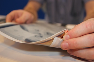 Tablets thin and flexible as sheets of paper