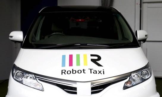 Driverless robot taxis