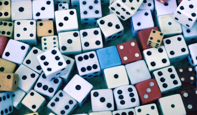dice, wealth, socks
