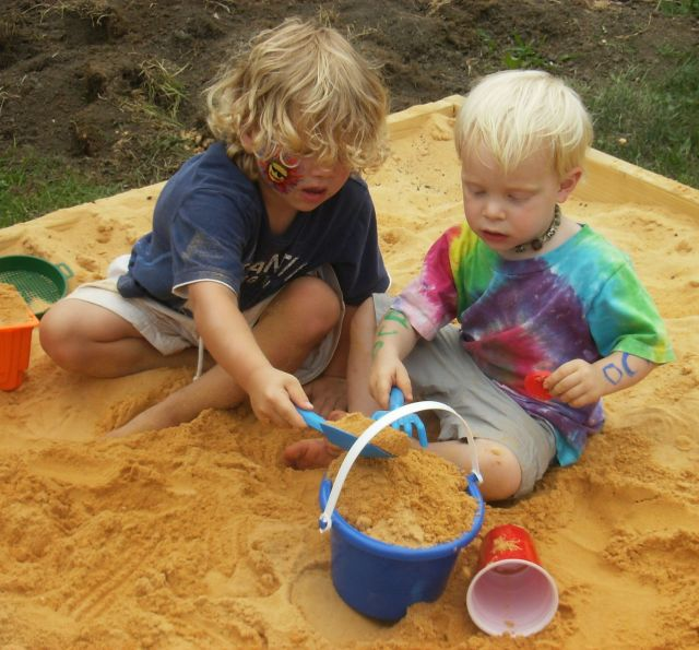 Children playing, metaphor, wealth
