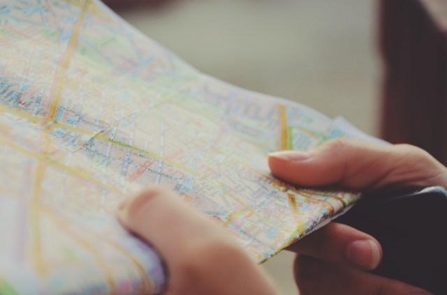 maps, success, thinking