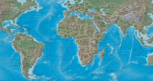 world map, property investment area