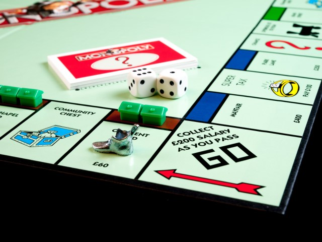 Monopoly, property investing, wealth
