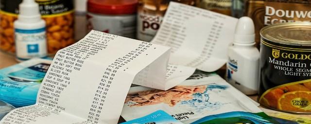 receipt, money management, finance, financial freedom