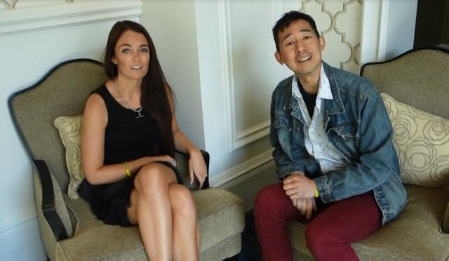 Regan Anne Hillyer and Ben Chai