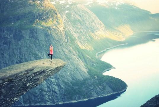 balance, mountain, business, success