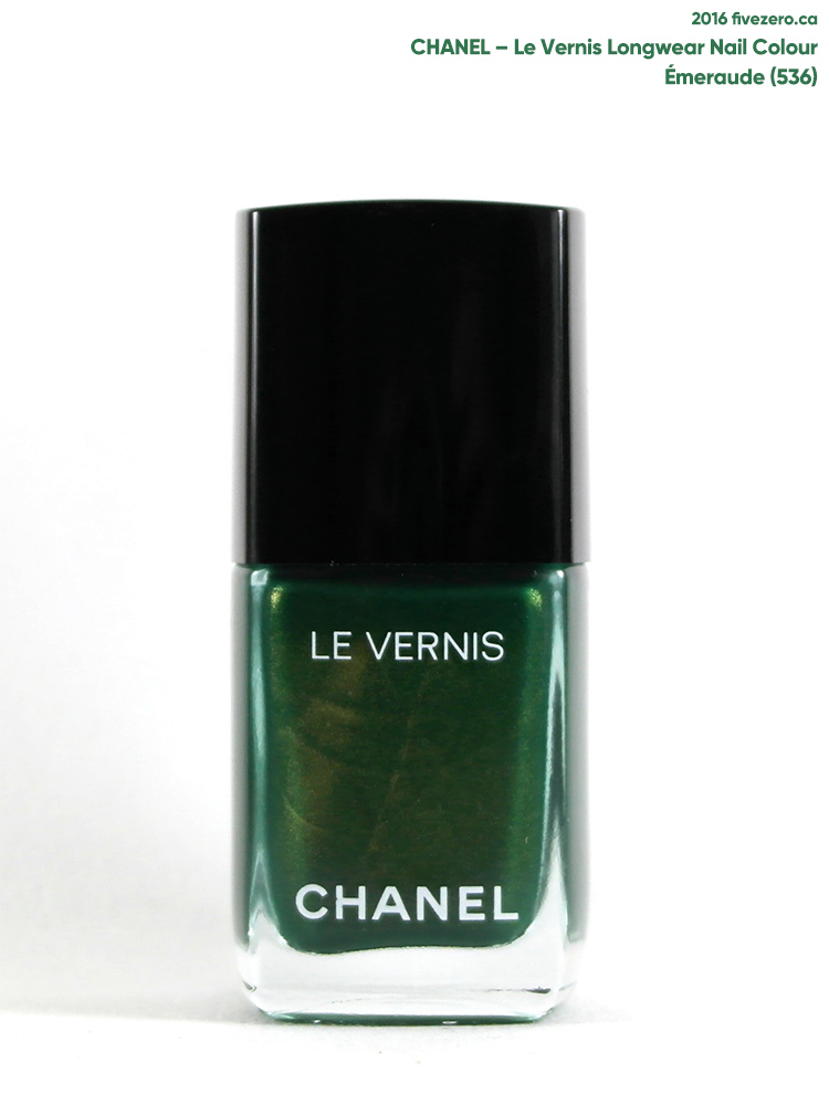 Chanel Le Vernis Longwear Nail Colour in Émeraude (536)