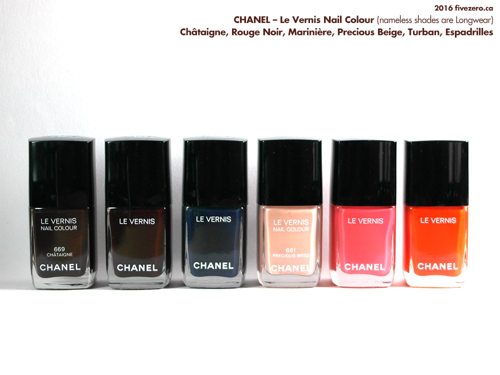 Chanel Le Vernis Nail Colour Haulage from Shoppers Drug Mart Optimum Points