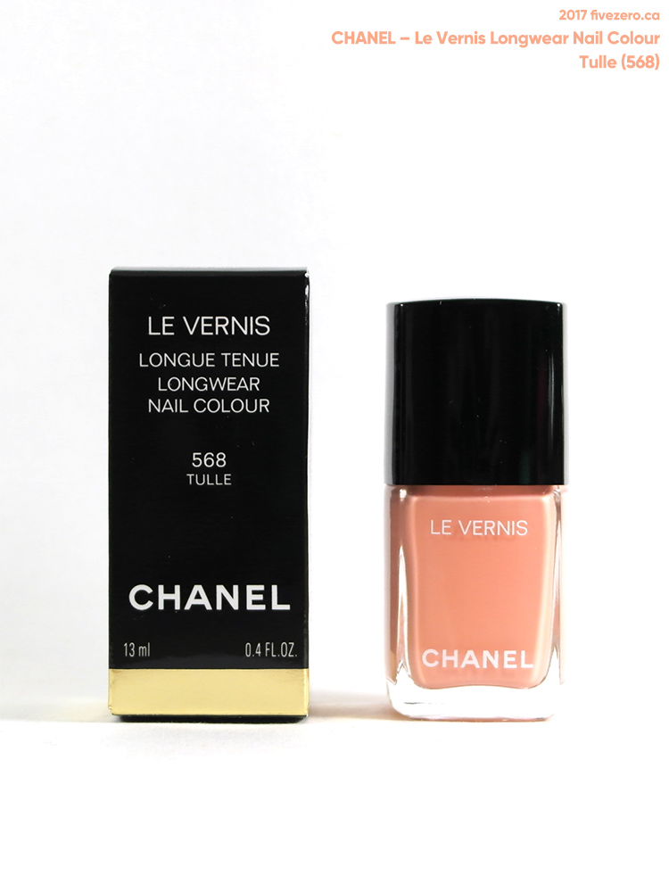 Chanel Le Vernis Longwear Nail Colour in Tulle (568)