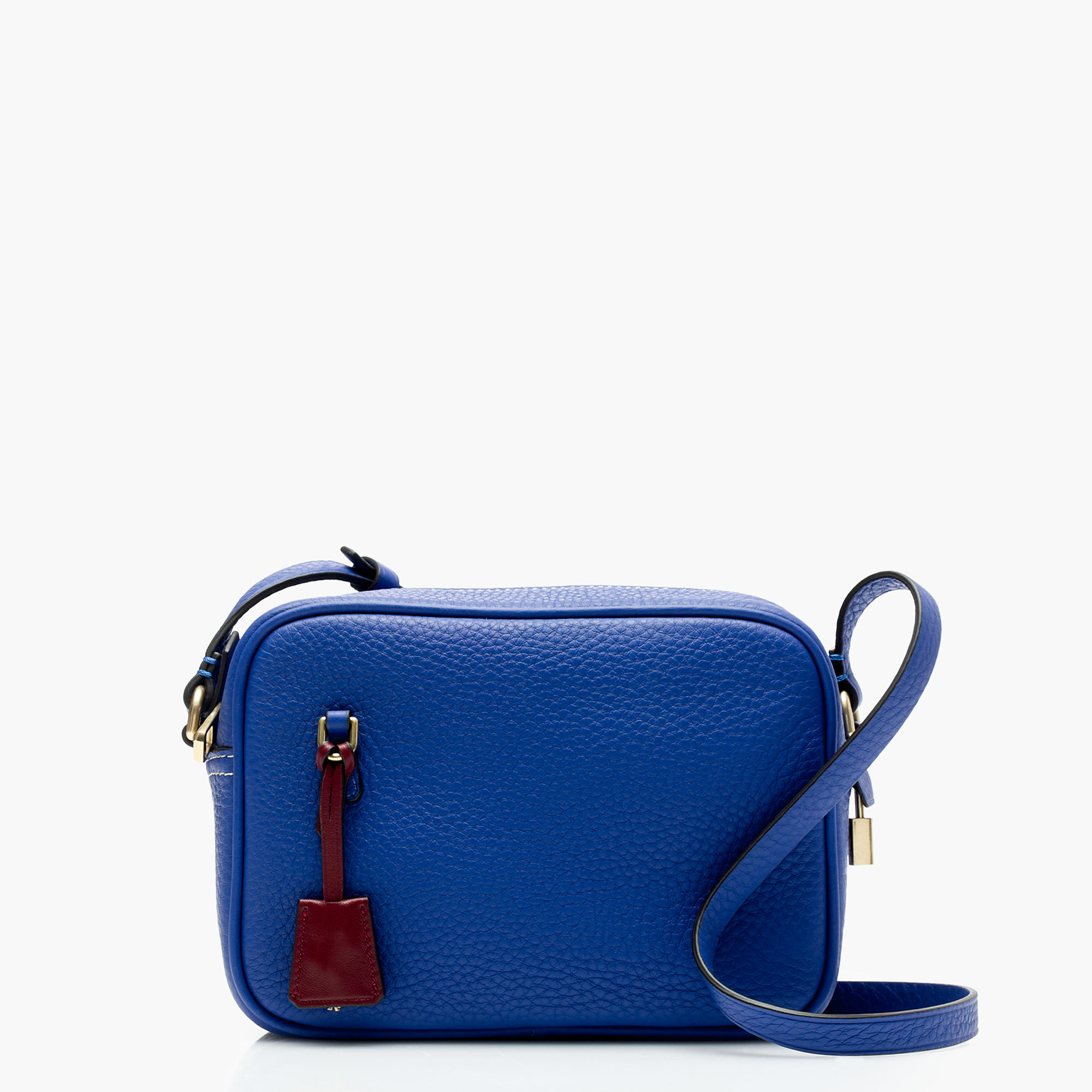 J.Crew Signet Bags in Italian Leather, Cobalt Sea