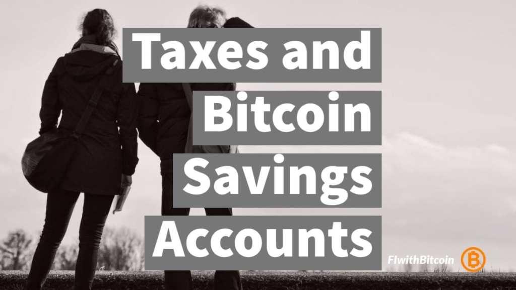 Bitcoin Savings Account Taxes CRA Canada