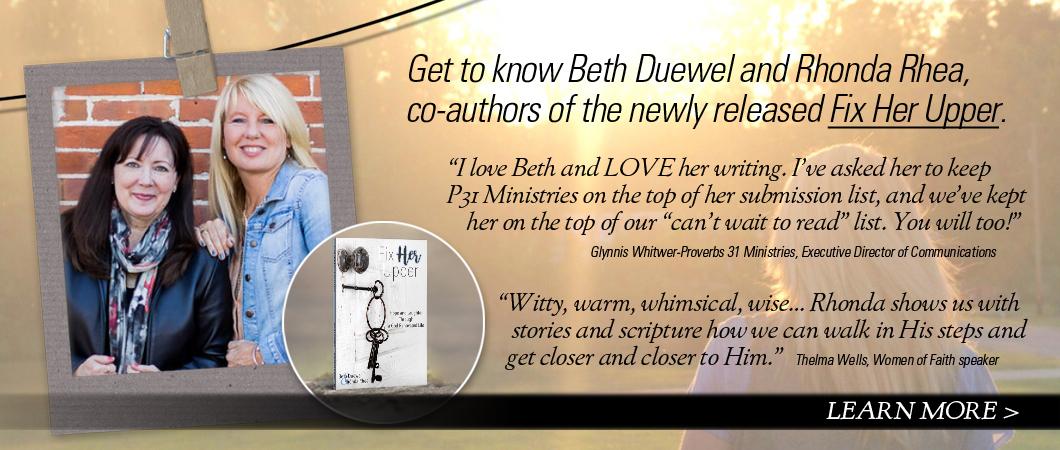 Beth Duewel and Rhonda Rhea - Authors