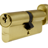 Asec Thumb turn 35 T45 cylinder gold