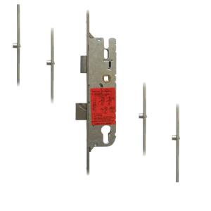 GU Secury Europa Lever Operated Latch & Deadbolt Single Spindle – 4 Roller