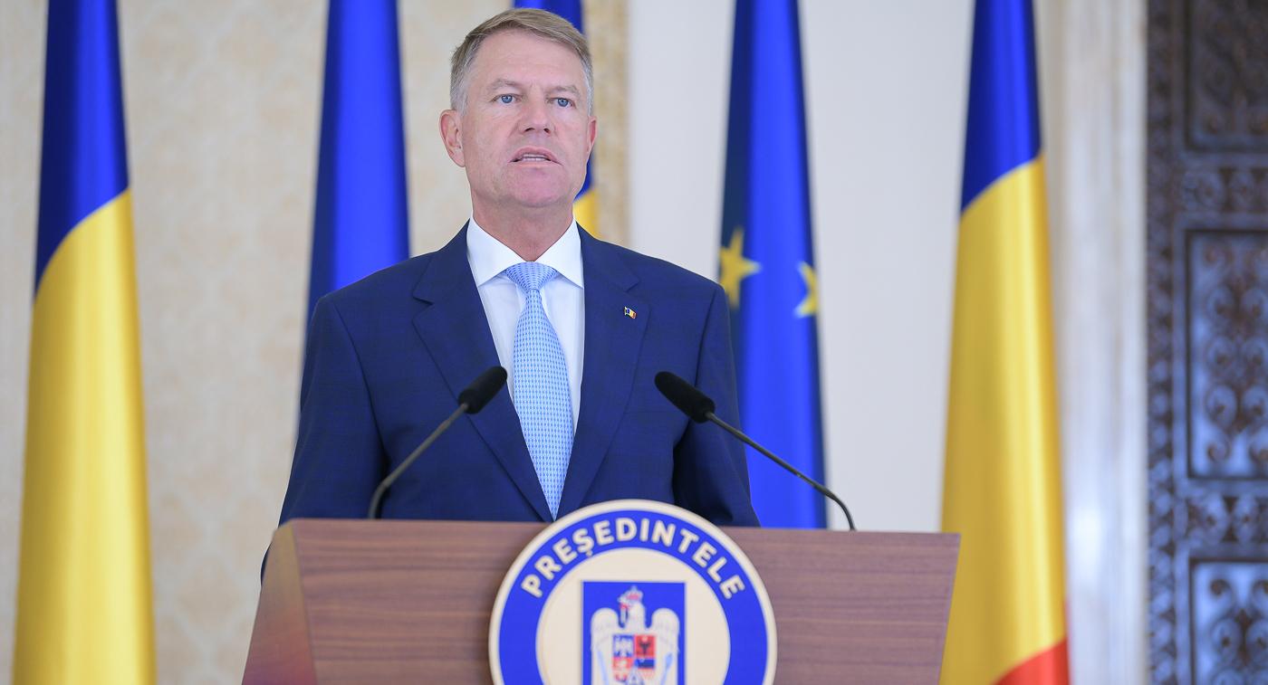 Prețedinte România Klaus Iohannis
