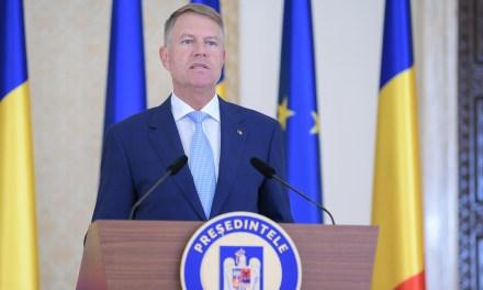 Declarația președintelui Klaus Iohannis de ieri la ora 17:00