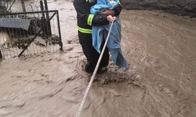 Inundații în România