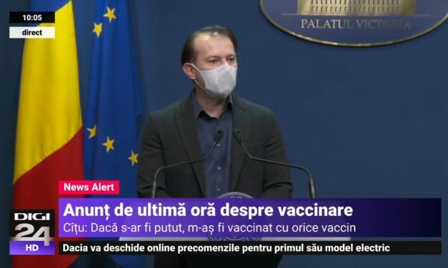 """Neam vaccinat sau terorist? Cîțu și transparența din goovernu Rumeniei"""