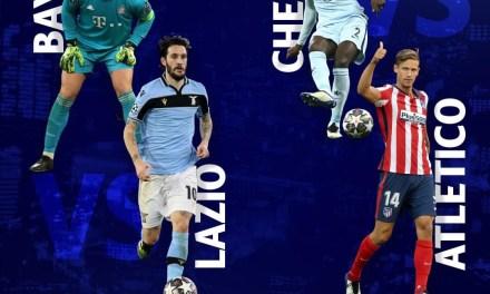 Optimi UCL | Bayern – Lazio 2-1, Chelsea – Atletico 2-0. Bayern și Chelsea, ultimele sfert finaliste