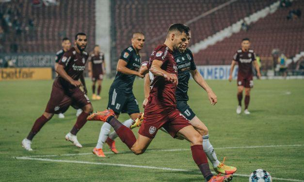 CFR Cluj a început cu dreptul noul sezon al Ligii 1. Meci cu 5 goluri în Gruia