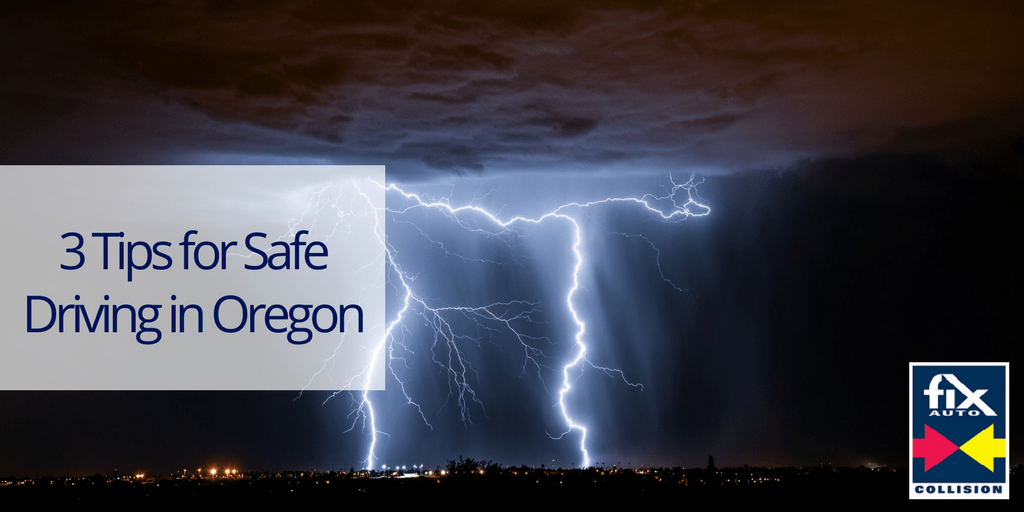 3 Tips For Safe Driving In Oregon Auto Body Shop