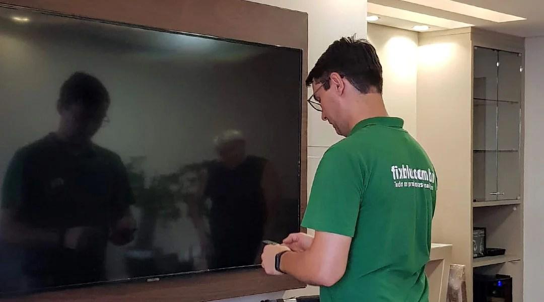 Instalação de TV em Painel e Parede em Blumenau