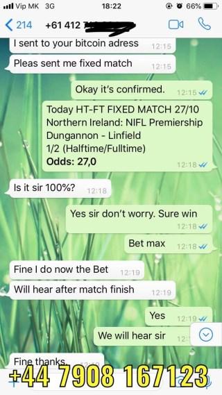 2 1 fixed matches won 27 10