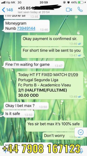 REAL FIXED MATCHES SOURCE