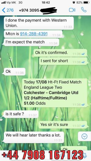 ht ft fixed matches won 1708 51 odds