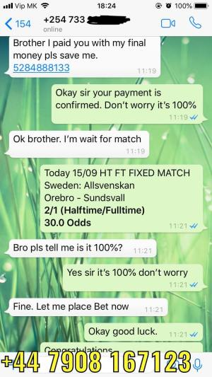 verified sellers fixed matches for today