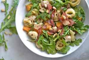 Fixed on Fresh - Roasted Squash, Chicken & Tortellini Salad