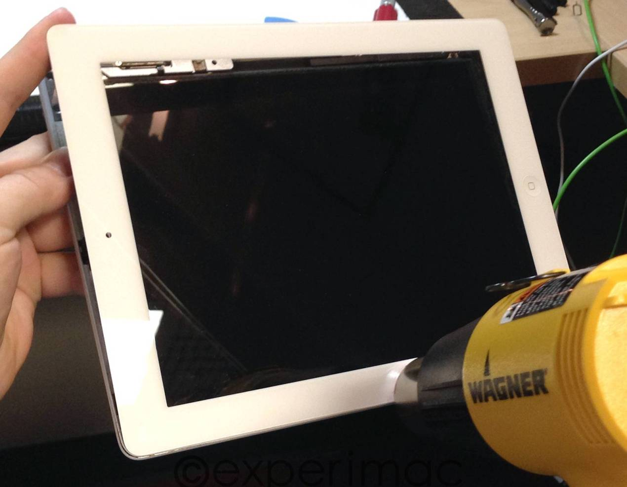 IPAD front glass removal repair service London Raphone